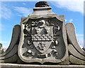 NJ9306 : Arms of David Stewart of Banchory Devenick by Bill Harrison