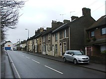 TQ6174 : Stonebridge Road, Northfleet by Chris Whippet