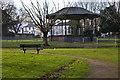 SJ3791 : The bandstand at Newsham Park by Ian Greig