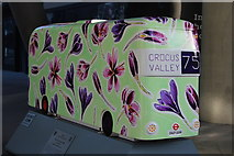TQ3266 : Bus Art, 'The 75 to Crocus Valley' by Oast House Archive