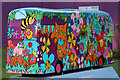 TQ3265 : Bus Art, 'At the Bottom of the Garden' by Oast House Archive