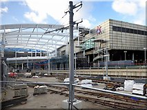 SJ8499 : Victoria Station Redevelopment, January 2015 by David Dixon