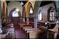 SO9279 : Nave and north aisle at St Leonard's, Clent by Phil Champion