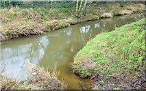 J4569 : The Enler River/Glen River confluence, Comber (January 2015) by Albert Bridge