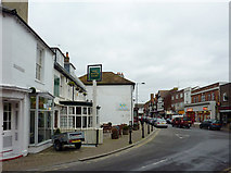 TQ0202 : Surrey Street in Littlehampton, West Sussex by Roger  Kidd