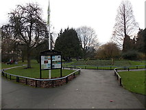 SO8454 : Cripplegate Park, Worcester by Jaggery