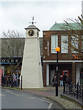 TQ0202 : Millennium Clock Tower in Littlehampton, West Sussex by Roger  Kidd