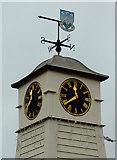 TQ0202 : Millennium Clock (detail) in Littlehampton, West Sussex by Roger  Kidd