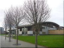 NZ4057 : Sunderland Architecture : The Library, University Of Sunderland by Richard West
