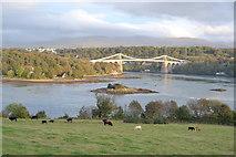 SH5571 : The Menai Bridge by Keith Evans