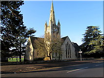 SO8005 : Wycliffe College Chapel Spire, Stonehouse by Jaggery