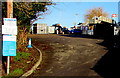 SO8005 : Stonehouse railway station car park by Jaggery