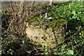 SO9242 : WWII Mortar Spigot, Eckington Bridge by Philip Halling