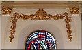 TQ3280 : St Nicholas Cole Abbey, Queen Victoria Street - Frieze by John Salmon