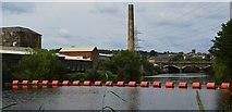 SE2320 : River Calder at Ravensthorpe #2 by Bobby Clegg