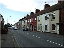 SK4976 : Terraced housing on Barlborough Road (A616) by JThomas