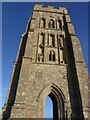 ST5138 : St Michael's Church Tower, The Tor, Glastonbury by Becky Williamson
