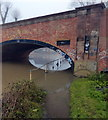 SK5907 : Flooded towpath along the River Soar/Grand Union Canal by Mat Fascione