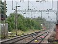 SJ8590 : Looking South from East Didsbury Station by Stephen Armstrong