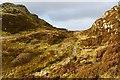 NM8503 : Wee bealach north-east of Dun Chonallaich by Patrick Mackie