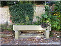 TQ5900 : Drinking Water Trough, WIllingdon Road, Eastbourne by PAUL FARMER