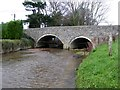 SY1389 : Sidford Bridge by David Smith