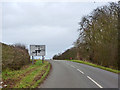 TL5846 : Approaching Dean Road Crossroads by Robin Webster