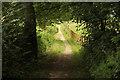 SK5655 : Sandy Lane by Richard Croft