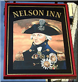 SE2419 : Sign for the Nelson Inn, Thornhill Lees by JThomas