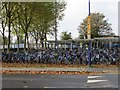 SP5006 : Bikes at the Station by Bill Nicholls