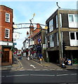 SU4829 : The Kite Flyer, Parchment Street, Winchester by Jaggery
