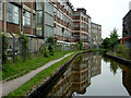 SJ9984 : Peak Forest Canal at New Town, Derbyshire by Roger  Kidd
