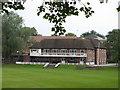 SJ8694 : Manchester Grammar School Sports Pavilion by Stephen Armstrong