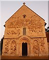 SP8526 : Stewkley - St Michael - West front by Rob Farrow