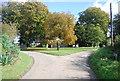 TG0610 : Church Rd, Church Lane, Hill Lane junction by N Chadwick
