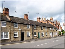 TF0920 : The West Street cottages, Bourne, Lincolnshire by Rex Needle