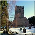 SO1327 : St. Paulinus church, Llangors by Jonathan Billinger