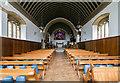 TQ5246 : Interior, St Luke's church, Chiddingstone Causeway by J.Hannan-Briggs