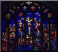 TQ5246 : East Window, St Luke's church, Chiddingstone Causeway by Julian P Guffogg