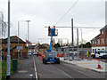 SK5337 : Middle Street tram stop by Alan Murray-Rust