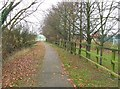 TL5546 : Footpath by Keith Evans