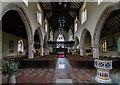 TQ5243 : Interior, St John the Baptist church, Penshurst by J.Hannan-Briggs