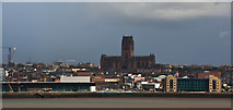 SJ3589 : Liverpool's Anglican Cathedral viewed from the top of St Mary's Tower by Ian Greig