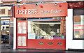 "J2968 : Former ""Jeffers"" bakery, Dunmurry - January 2015(1) by Albert Bridge"