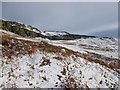 NS6387 : Fintry Hills escarpment by Alan O'Dowd