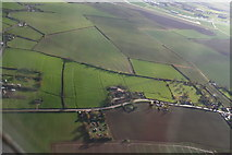 TF4382 : A157 NE of Withern: aerial 2010 by Chris