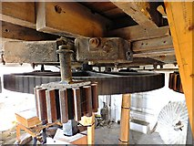 TF1443 : Part of cog mechanism Heckington Mill by Richard Hoare