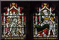 TQ5243 : Clerestory stained glass, St John's church, Penshurst by Julian P Guffogg