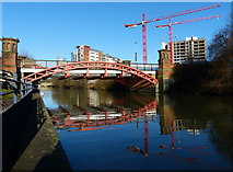 SK5803 : Mill Lane Bridge crossing the Grand Union Canal by Mat Fascione