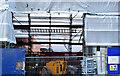 "J3374 : Block ""B"" University of Ulster site, Belfast - January 2015(2) by Albert Bridge"